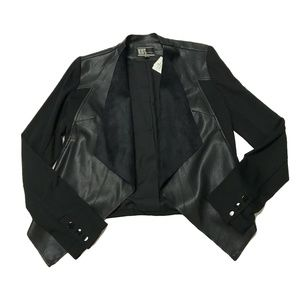 Kut From The Kloth Lincoln Faux Leather Jacket NWT
